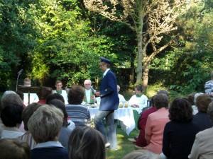 Verbundsmesse in Oberlangen 2008 in Pastors Garten