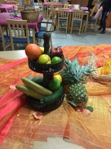 frisches Obst darf nicht fehlen